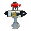 XPD i YPD - Zawory kulowe pneumatyczne  pełno i niepełnoprzelotowe